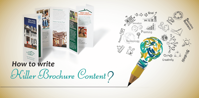 How to write Killer Brochure Content