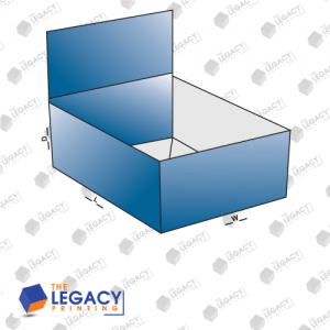 1-2-3 Bottom Display Lid Boxes