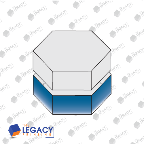 Hexagon Two Piece Box
