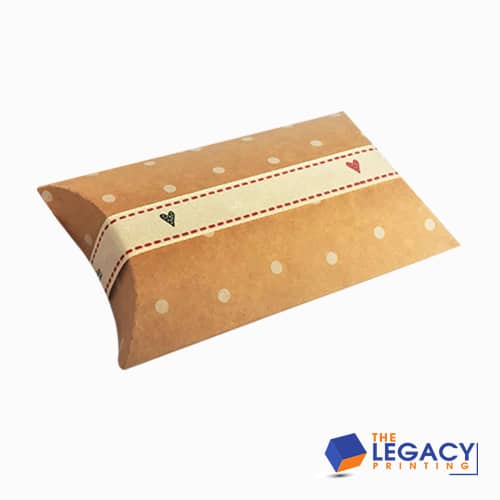 Pillow Box packaging