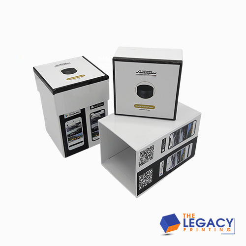 Rigid Boxes With Lid packaging