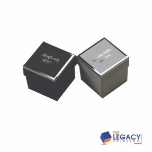 Silver Foil Boxes packaging