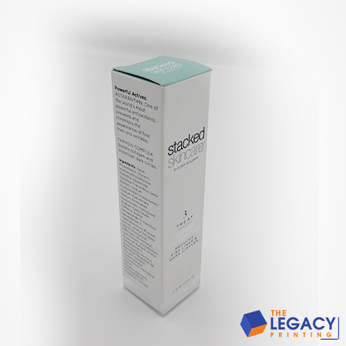 cleanser box packaging