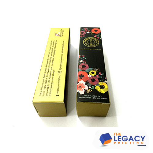 Mascara packaging boxes