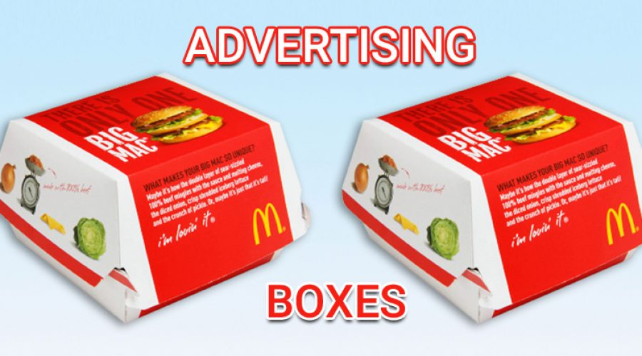 Artfully Designed Advertising Boxes Enhance Product Sales