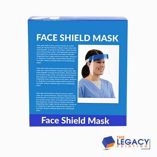 Custom Printed Face Shield 04