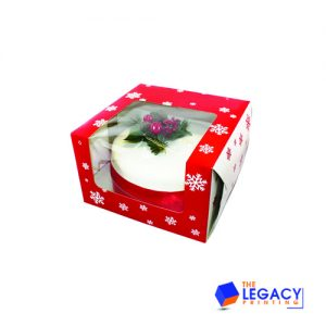 Christmas Cake packaging boxes
