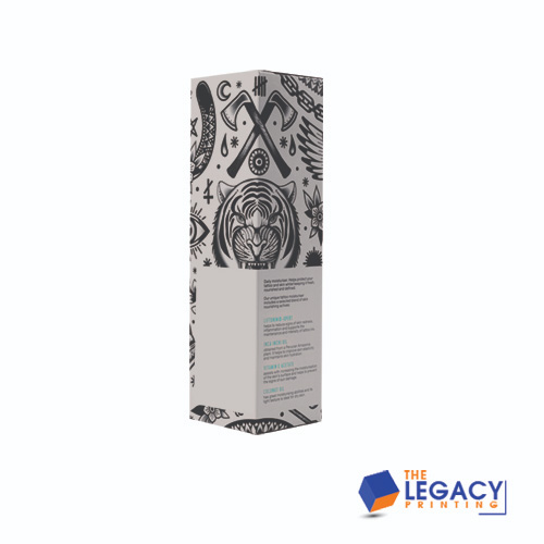 cleanser packaging box