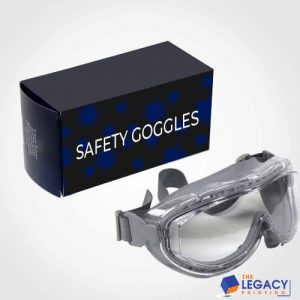 Goggles packaging