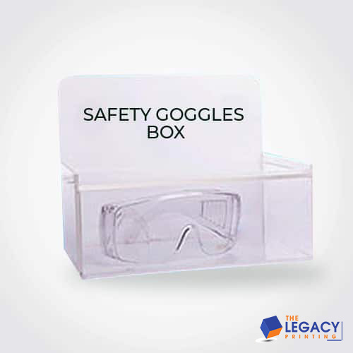 Goggles box packaging