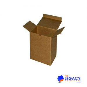 Grocery packaging box