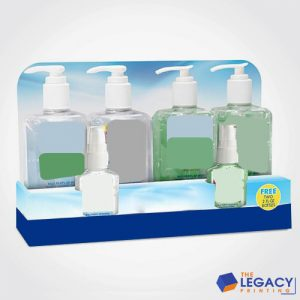 Hand Sanitizers boxes