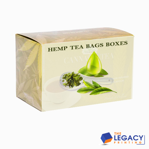 hemp teabag packaging