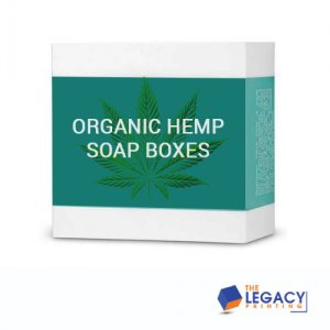 Organic Hemp Soap Boxes