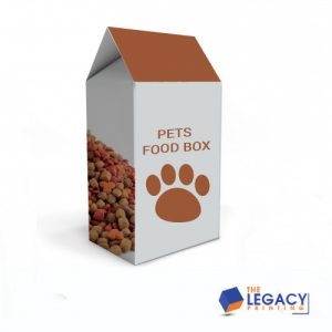 Pet packaging boxes
