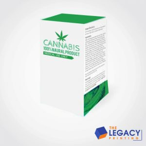 Cannabis Moisturizer Box packaging