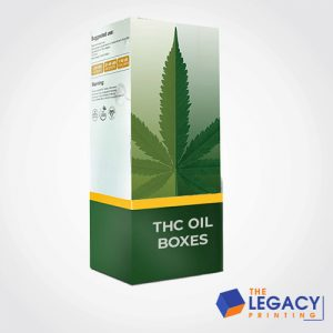 THC oil box packaging