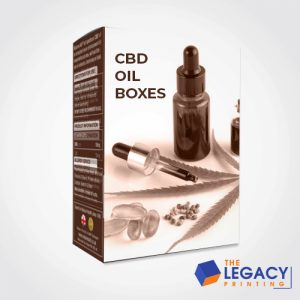 CBD oil box packaging