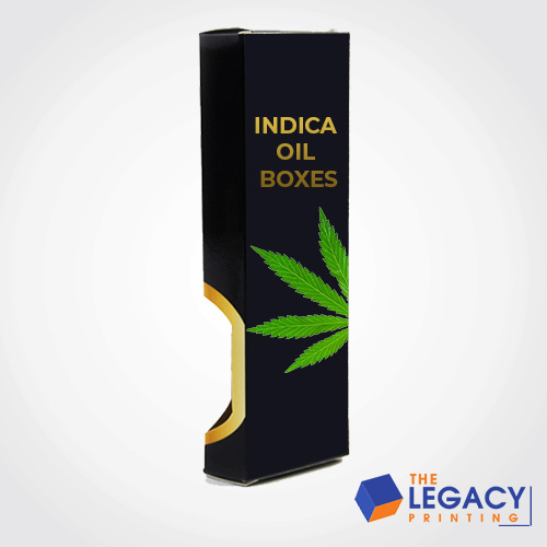 Indica oil packaging boxes