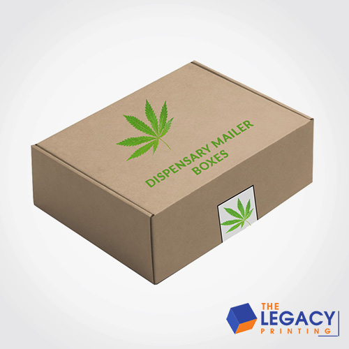 Dispensary Mailer packaging Boxes