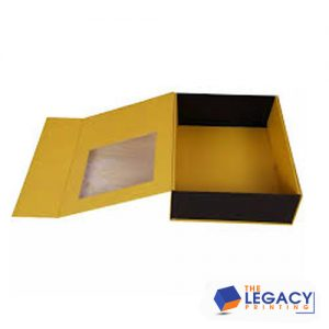 Partial Cover Rigid packaging