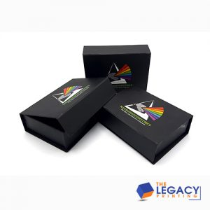 Book Style Rigid Box packaging