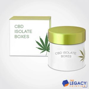 CBD Isolate Box packaging